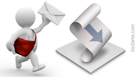 script-per-spedire-email-dragNdrop
